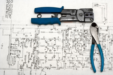 electrical diagram and tools